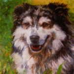 """Animal Art Pet Dog Portrait"""