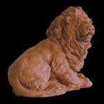 """""""Fine Art Lion Wildlife Sculpture"""""""