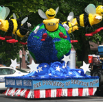 Patriotic Parade World Design Insects