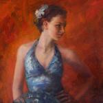 """Fine Art Female Dancer Portrait"""