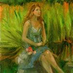 """Fine Art Female Figure Portrait"""