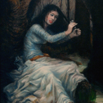 """Fine Art Fantasy Figure Portrait Image"""