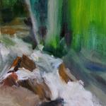 """Landscape Art Impressionistic River Scene"""