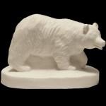 Miniature Black Bear Sculpture