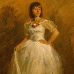 """Fine Art Figure Female Ballet Dancer Portrait"""