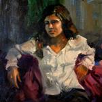 """Student Female Figure Artwork"""