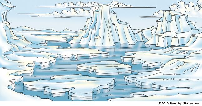 Arctic Landscape Drawing, et al